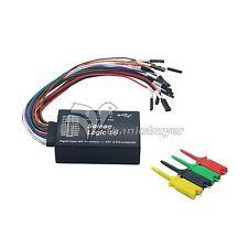 Mini Saleae 16 Logic Analyzer USB 100M Max Sample Rate 16CH Version 1.1.34