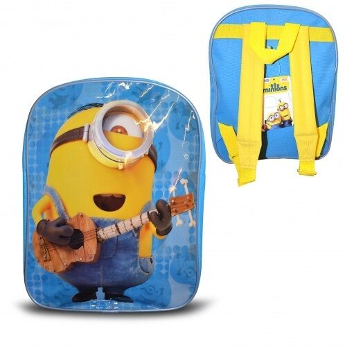 Minions Movie singing Stuart Backpack Small