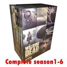 Walking Dead Seasons 1-6 Complete Series 1,2,3,4,5,6 DVD Free Shipping