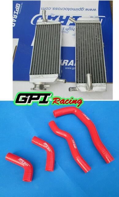 aluminum alloy radiator&silicone hose kit Honda CRF450X 2005-2014 2006 2007 2008