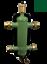 """miniatuur 1 - separatore idraulico 1"""" completo di isolamento 4 bocchettoni 1"""" 1 sfiato 1 rubin"""