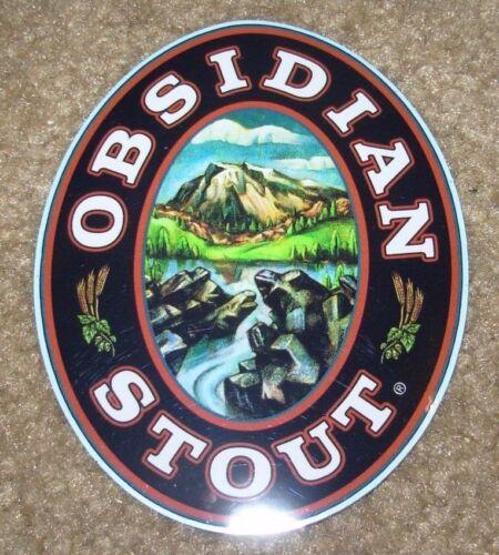 DESCHUTES BREWERY Obsidian Stout STICKER decal craft beer brewing