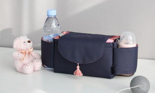 Pushchair Storage Organiser Stroller Pram Baby Buggy Diapers Bottle Toy Holder