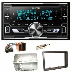 Kenwood-DPX-7100DAB-DAB-USB-MP3-Einbauset-fuer-Fiat-Ducato-Boxer-Jumper