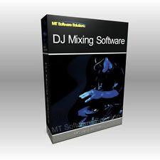 Pro DJ Audio Music MP3 Mixing Mixer Laptop Software Computer Program