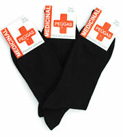 Lot of 3/6 Men's Medical Socks 100% Cotton health ** made in Portugal