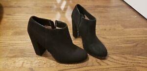 Mix No. 6 women's black suede ankle