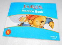 Houghton Mifflin Harcourt Journeys Writing Practice Book Grade K Volume 2