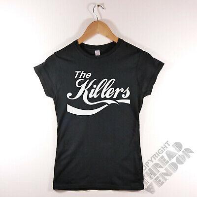 retro indie rock band cola parody logo The Killers Baseball T-Shirt