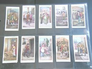 1913-Cries-Of-London-1st-series-Complete-Players-Tobacco-Card-Set-25-cards-lot