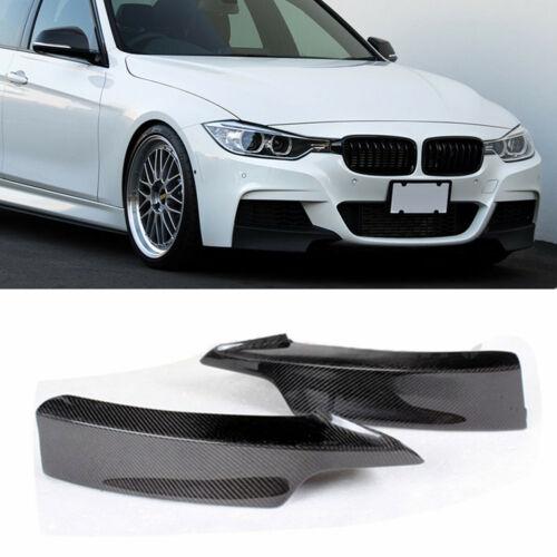 Carbon Fiber Splitter Front Bumper For 2012-2018 BMW F30 Sedan W// M-Tech M Sport