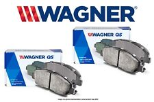 Rear Wagner ThermoQuiet QC1510 Ceramic Disc Pad Set With Installation Hardware