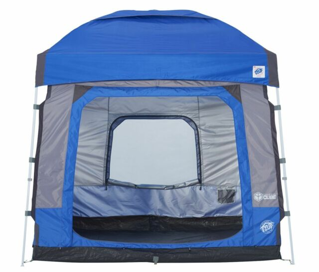 E-Z Up Camping Cube 5.4 Instant Canopy Shelter Wrap Tent ...