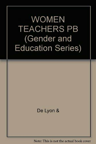 Women Teachers: Issues and Experiences (Gender and Education) Paperback Book The