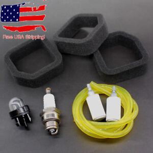 3x-Air-Filter-Fuel-Line-Kit-Ryobi-560873001-51930-51932-51934-51936-51938-51940