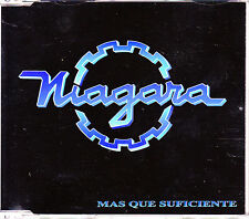 CD SINGLE NIAGARA mas que suficiente SPAIN 1994 3-TRACKS HEAVY METAL BANZAI MINT
