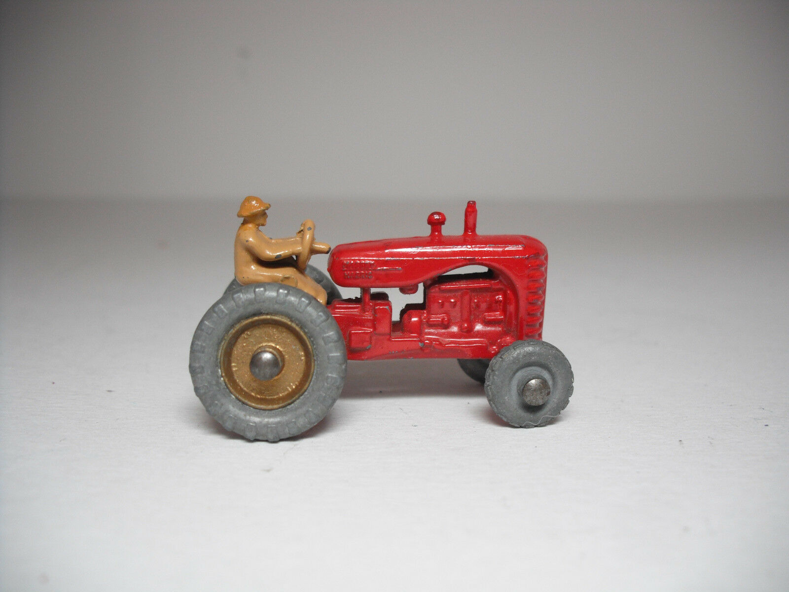 Matchbox Lesney B-1 Massey Harris Tractor Retouched Excellent Condition.
