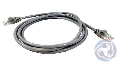 RJ45 CAT5E Ethernet Network Cable Gray New 7/' 7 FT Foot Feet Wholesale Lots