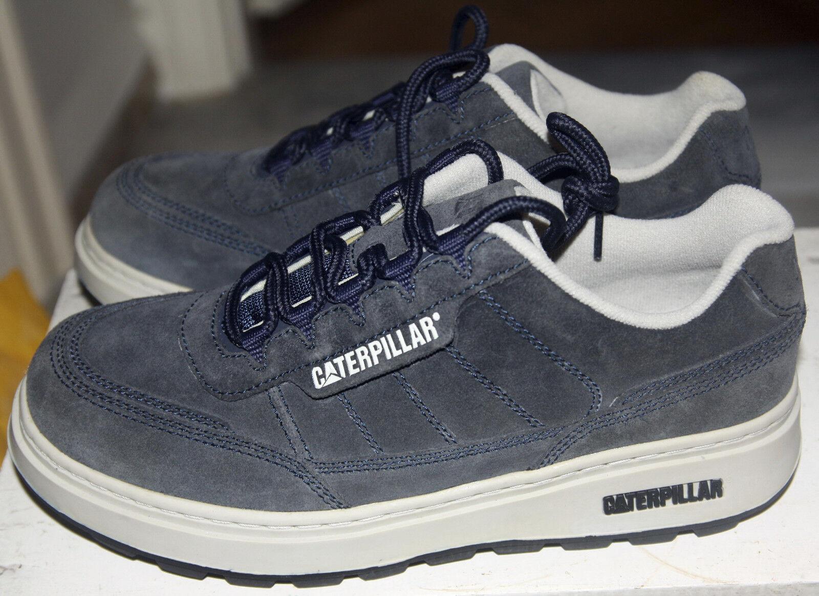 CAT Caterpillar Fluid 702055 Vintage Old Stock EU 42 US 9 Navy BNIB UVP: 84.90