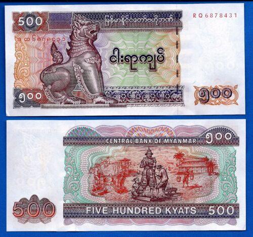 Burma P-68,69,70,71,72,73,74,78,79 Uncirculated Set # 10 Myanmar
