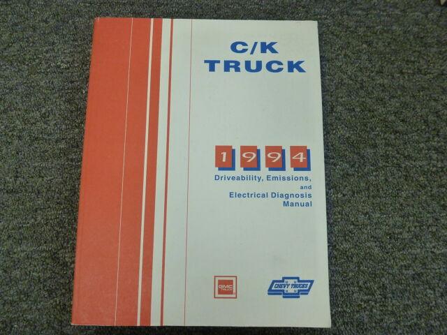 1994 Chevy Gmc C1500 C2500 C3500 K1500 K2500 K3500 Wiring