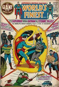 WORLD-039-S-FINEST-COMICS-197-OCT-NOV-1970-GIANT-G-76-BATMAN-SUPERMAN-JACK-KIRBY