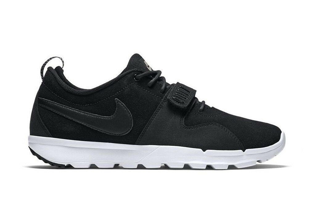 Nike Discounted TRAINERENDOR L Black White Athletic Leather Discounted Nike (594) Men's Shoes 8a9ea2