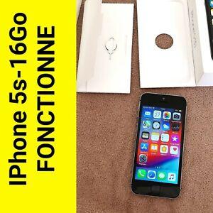 iPhone 5s 16go . Fonctionne parfaitement