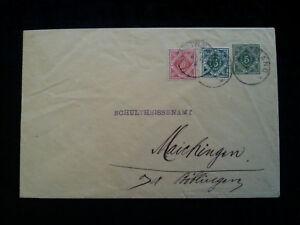 Altdeutschland-Wuerttemberg-1912-Brief-Dienstumschlag-Bothnang-Boebling