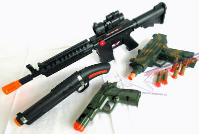 "TOY SHOTGUN DART RIFLE GUN 27/"" IN LENGTH ORANGE TIP BRAND NEW"