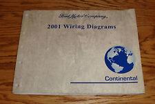 2001 Lincoln Continental Wiring Diagrams Manual 01