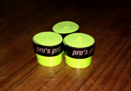 Lot de 3 Surgrips Overgrip Pro/'s Pro GTACKY Surgrip NEUF 3 pieces G-TACKY NEW
