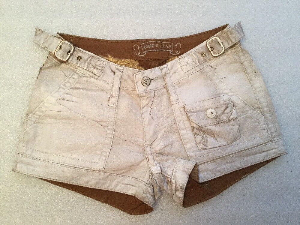 100% AUTHENTIC Robin's Jean Stretch Shorts  Size 23