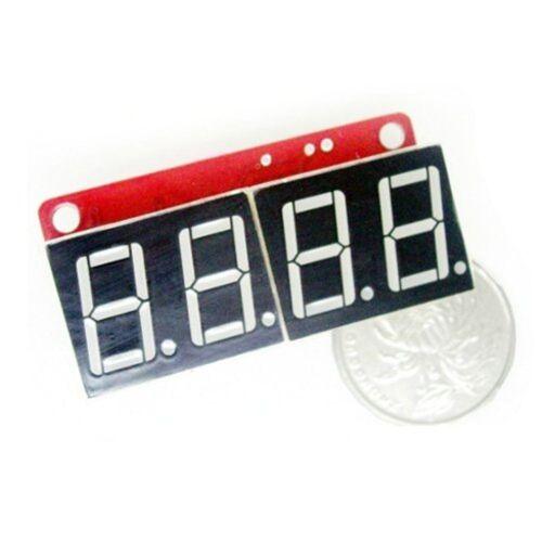 Emartee 7-Seg digit LED Shield Module Red Arduino Compatible
