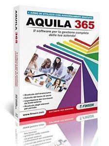 FINSON-AQUILA-365-TAGLIE-E-COLORI-LIC-12-MESI-CON-MOD-FT-ELET-INCLUSO-nuovo