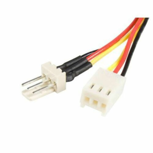 """9/"""" 3 Pin Fan Extension Cable 12V Male to Female 9 Inch Long NEW"""