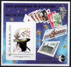 IngéNieux Timbre France Bloc Cnep N°63 Neuf** Salon Philatélique De Printemps MÂcon 2013 Dans Beaucoup De Styles