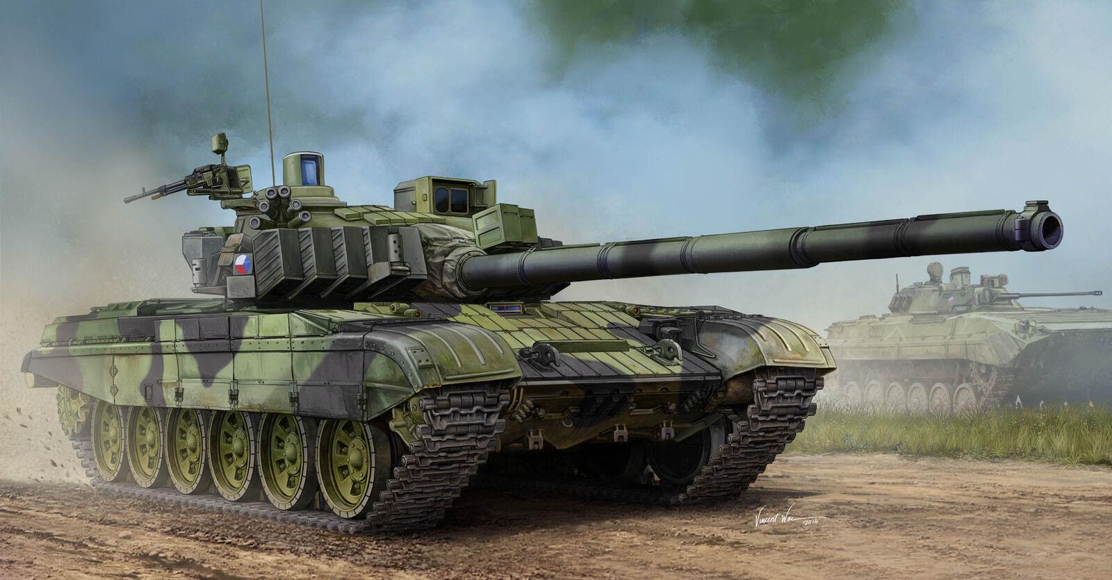 Trumpeter 05595-1  3 5 Czech T-72M4CZ Mbt -  Nuevo  à la mode