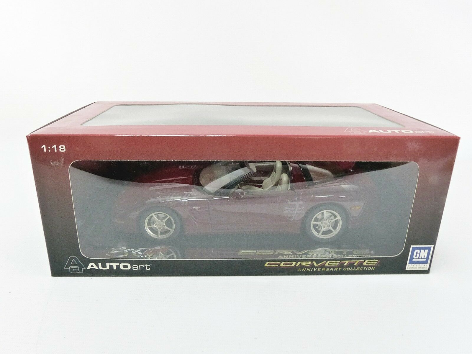 AUTOART 1/18 - CHEVROLET CORVETTE 2003 - 50TH ANNIVERSARY - 71156