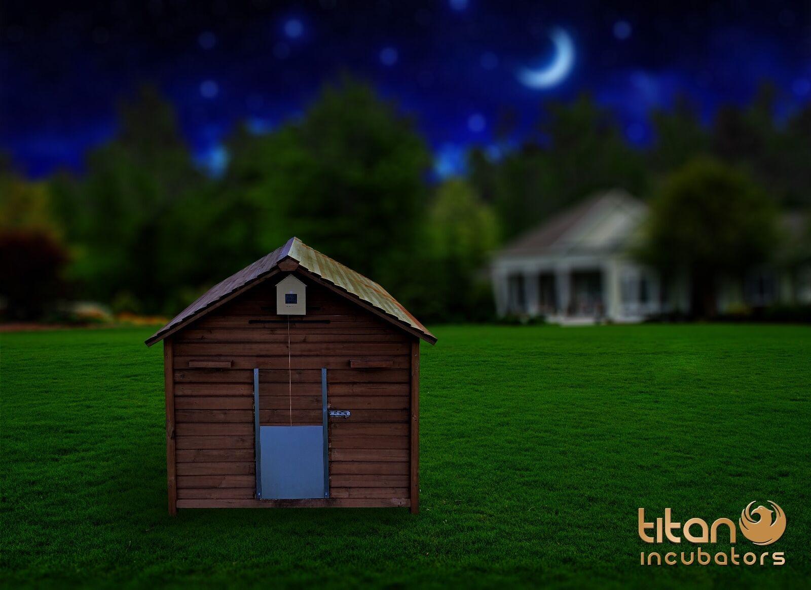 Titan Automatique Porte Ouvreur pour pour pour Poulet Maison Poule Maisons Volaille 5bb129