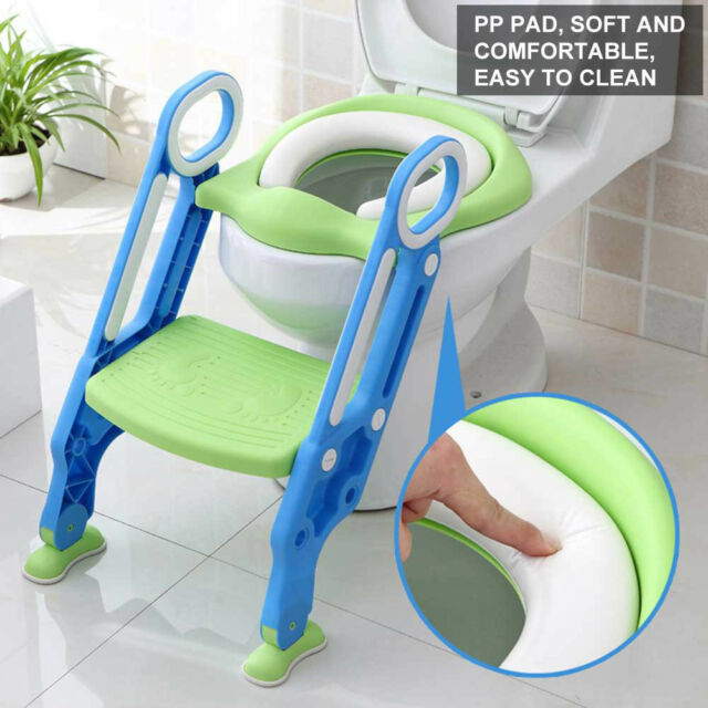 Amazing Kids Potty Training Seat With Step Stool Ladder Toilet Chair For Child Toddler Evergreenethics Interior Chair Design Evergreenethicsorg