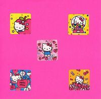 50 Hello Kitty Value Stickers - Party Favors - Rewards - Cat
