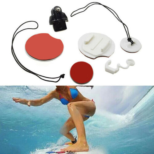 FJ-Au /_ 8Pcs Kit de Montaje Tabla de Surf Surf Accesorios para GoPro Hero 6//5//4//3 Sport