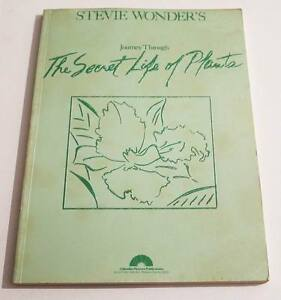Partition-Songbook-Sheet-Music-STEVIE-WONDER-The-Secret-Life-of-Plants-80-039-s