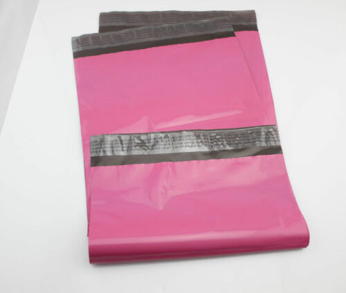 VENTE £ 10 200 9 x 12 60mu Rose Haute Qualité postaux Enveloppes Sacs postaux 230x305