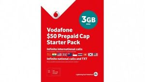 Details about VODAFONE◉$50 PREPAID SIM CARD+Unlimited Call+Text/SMS+UPTO 55  GB DATA