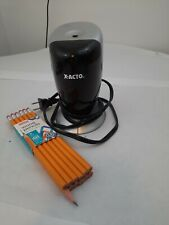 X Acto Electric Pencil Sharpener With Office Depot 12 Pack Of Wooden 2 Pencils