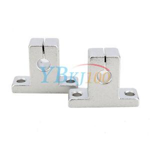 2Pcs-Set-SK8-10-12-16-CNC-Linear-Rail-Shaft-Guide-Support-Bracket-Bearing-Steel