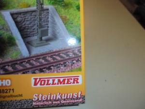 Vollmer Steinkunst H0 48271 Signalbucht Neu