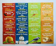 Childrens Leveled Books A-D Seasons Learn to Read Lot 24
